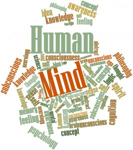 Word cloud for Human Mind